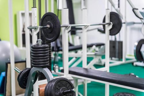 The fitness center and/or fitness facilities at Hotel Waldsee