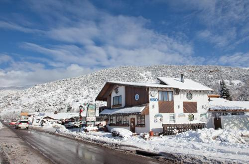 Starlight Lodge during the winter