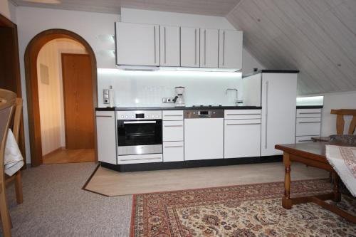 Küche/Küchenzeile in der Unterkunft Ferienhaus Marienweg