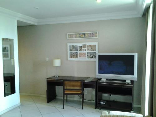 A television and/or entertainment center at Flat Millenium