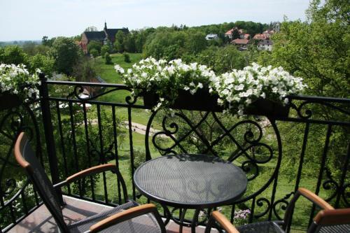 Balkon lub taras w obiekcie Apartamenty Furta Dominikańska