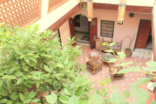A porch or other outdoor area at Dar Choumissa