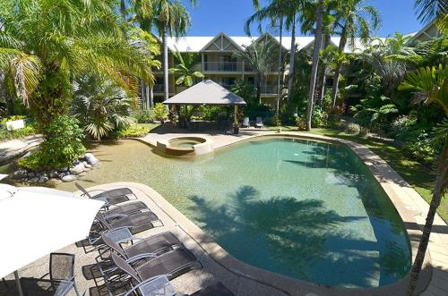 A view of the pool at Port Douglas Sands Resort or nearby