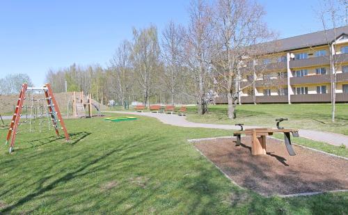 Children's play area at Līvu Apartamenti