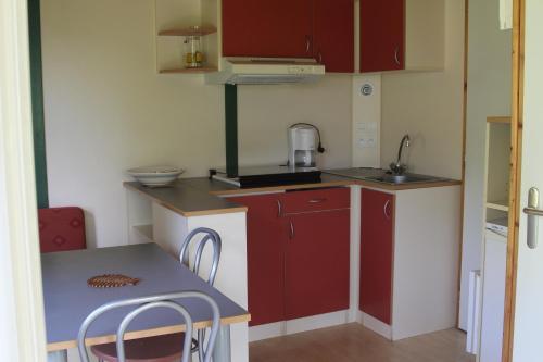 A kitchen or kitchenette at Causses & Vallées Vacances
