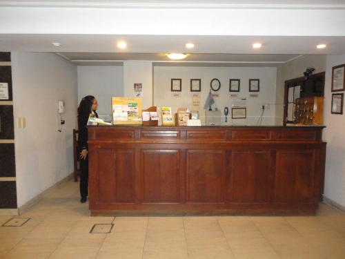 The lobby or reception area at Hotel Miami