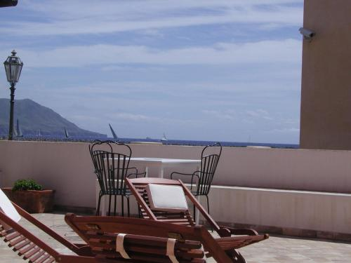 Balcone o terrazza di Hotel A Cannata