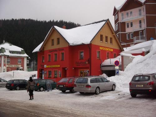 Apartmá Turista, Pec pod Sněžkou im Winter