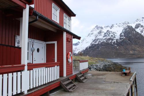 Sildpollnes Sjøcamp during the winter