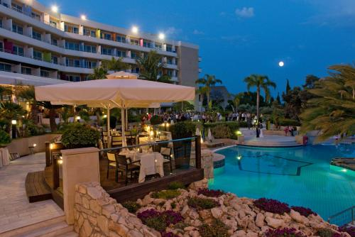 The swimming pool at or near Mediterranean Beach Hotel