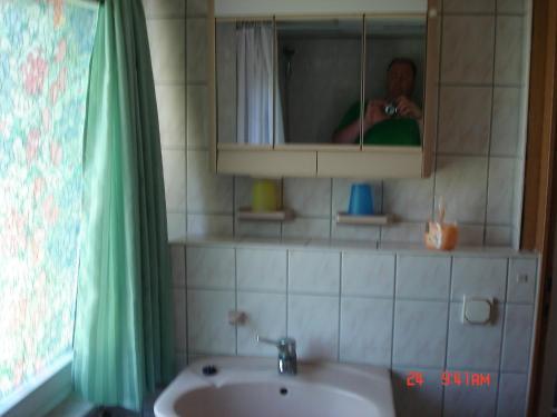 Ванная комната в Ferienhaus Süplingen
