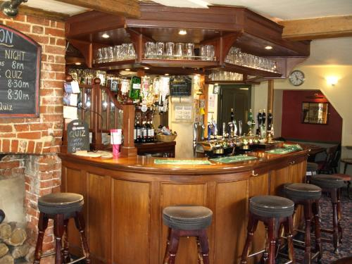 The lounge or bar area at Jolly Brewers Free House Inn