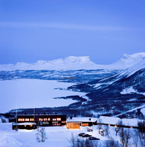 山之旅館冬天相片