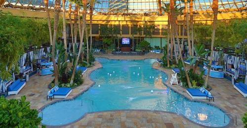The swimming pool at or near Harrah's Resort Atlantic City Hotel & Casino