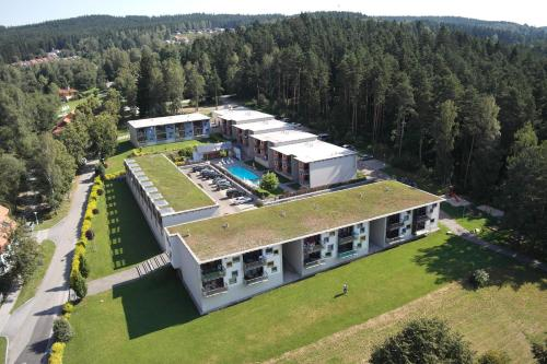 A bird's-eye view of Apartmány Doky Holiday
