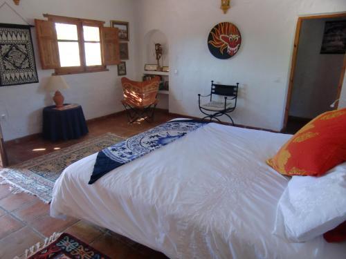 Cama o camas de una habitación en El Diplomatico Feo - The Ugly Diplomat