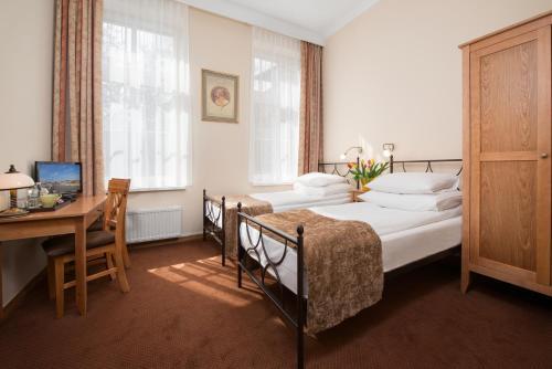 Część wypoczynkowa w obiekcie Hotel Villa Sedan Sopot