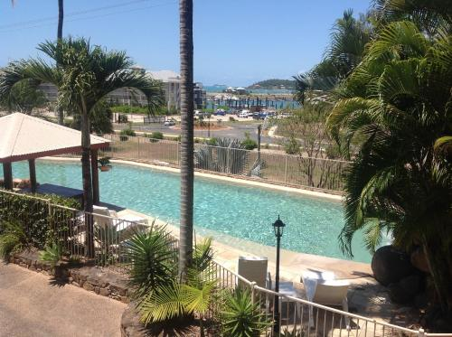 A view of the pool at at Boathaven Bay Holiday Apartments or nearby