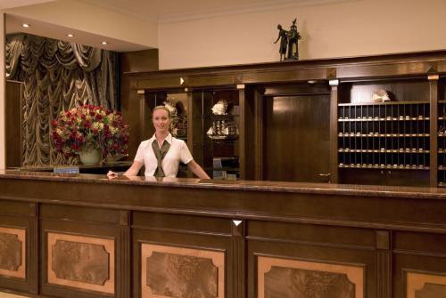 Vstupní hala nebo recepce v ubytování Hotel Horizont