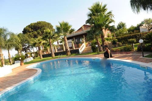 Piscina di Villa Papardo o nelle vicinanze