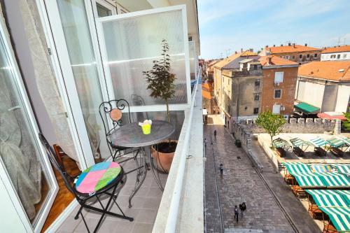 Balkon ili terasa u objektu Zadar Old Town Apartments II