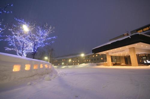 Niseko Northern Resort, An'nupuri during the winter