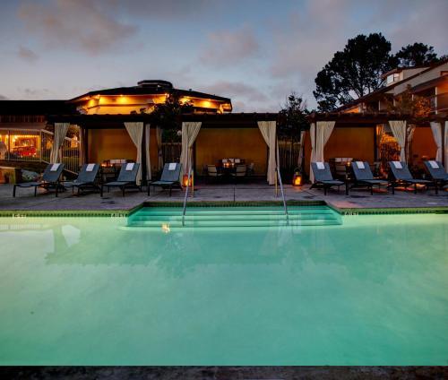 The swimming pool at or near Hilton Garden Inn Monterey