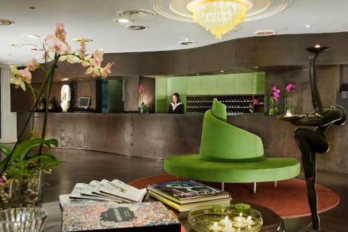 Hall o reception di Hotel Abitart