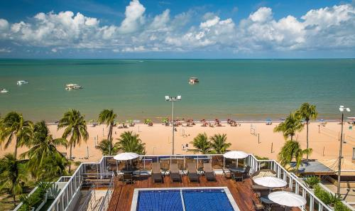 A bird's-eye view of Laguna Praia Hotel