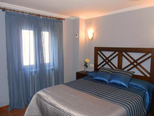 Cama o camas de una habitación en Casa Navarrete