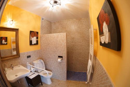 Un baño de Casa Rural La Galana