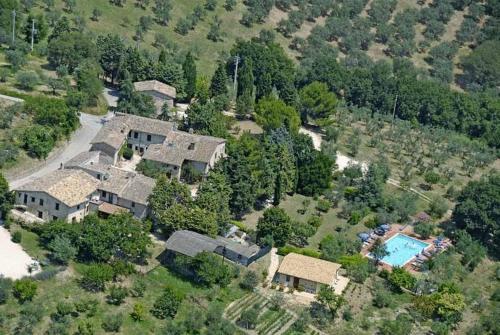 Vista aerea di Agriturismo Camiano Piccolo