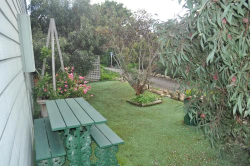 A garden outside The Fig Tree B&B
