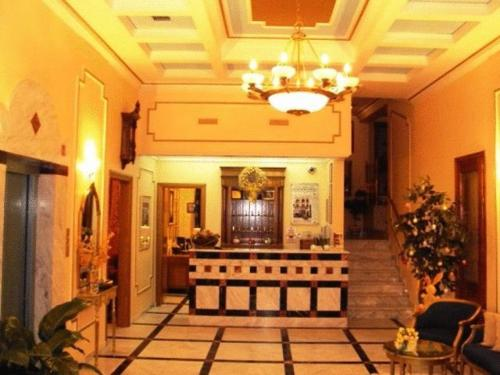 The lobby or reception area at Astoria Hotel Traditional