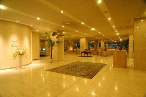 The lobby or reception area at Bellino Hotel Ichinoseki