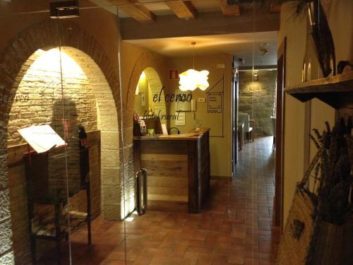 The lobby or reception area at Hotel El Cerco