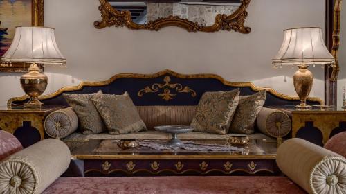 Zona de estar de Tuvana Hotel