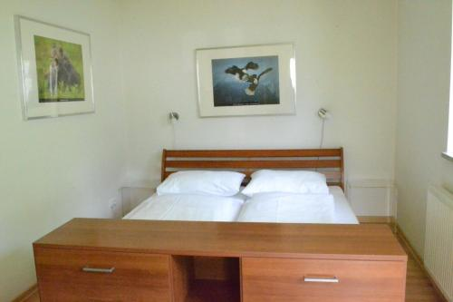 A bed or beds in a room at Apartment Luma an der Schiwiese