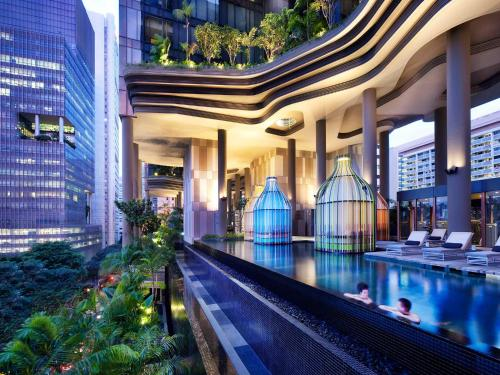 The swimming pool at or near PARKROYAL COLLECTION Pickering, Singapore (SG Clean,Staycation Approved)