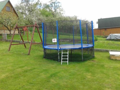 Herní místnost nebo prostor pro děti v ubytování Apartman Trnovec
