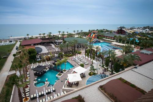 A view of the pool at Crystal Family Resort & Spa or nearby