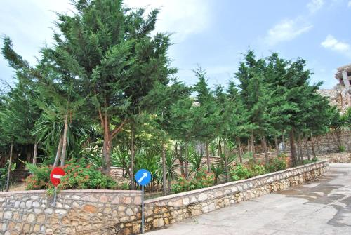 A garden outside Hotel Panorama Sarande