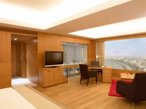 A television and/or entertainment center at Trident Nariman Point
