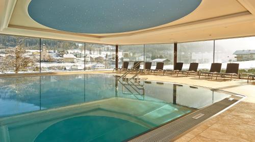 Der Swimmingpool an oder in der Nähe von Hotel Waidmannsheil