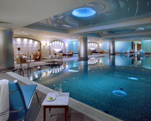 The swimming pool at or near Regent Warsaw Hotel