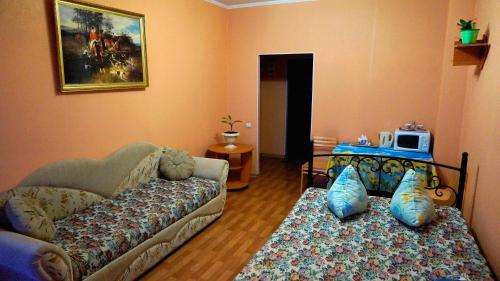 Гостиная зона в Apartment Briz
