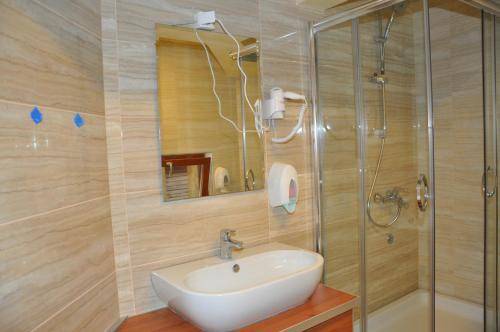 A bathroom at Motel Tara MB