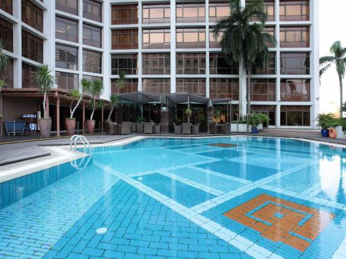 The swimming pool at or near Village Hotel Bugis by Far East Hospitality (SG Clean)
