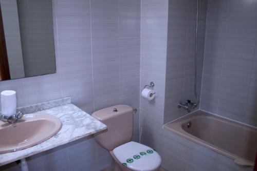Un baño de Suite Apartments Arquus