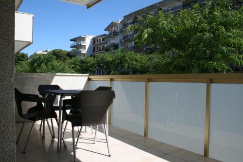 Un balcón o terraza de Suite Apartments Arquus